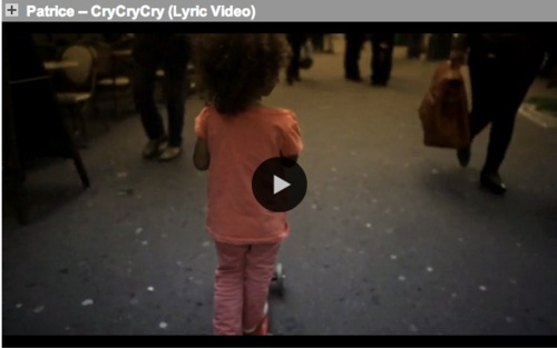 Patrice - Cry,Cry,Cry (Lyric-Video)
